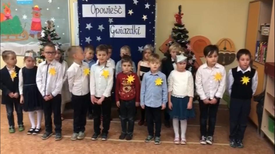 """Przedstawienie wigilijne """" Opowieść Gwiazdki"""""""